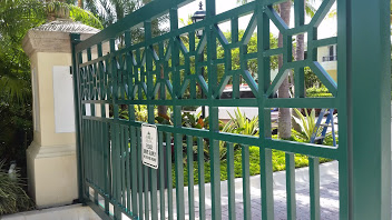 Electrostatic Painting Gates After