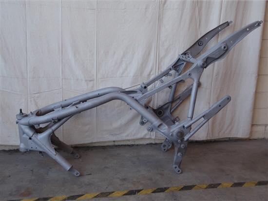 BIKE FRAME AFTER BLAST