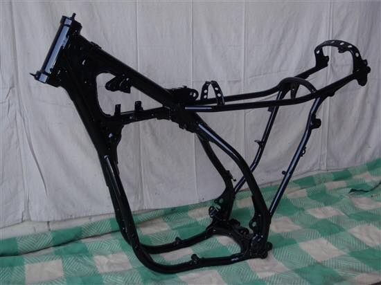 BIKE FRAME AFTER POWEDR COATING