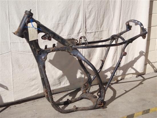 BIKE FRAME BEFORE BLAST